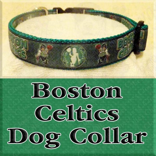 Boston Celtics NBA Dog Collar Product Image No1