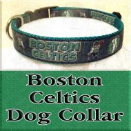 Boston Celtics NBA Dog Collar Product Image No2