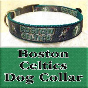 Boston Celtics NBA Dog Collar Product Image No2