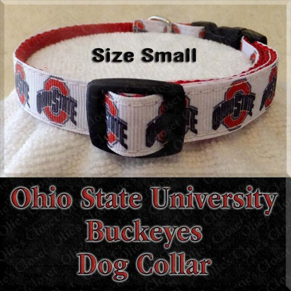 Ohio State University Size Small Dog Collar Product Image No1