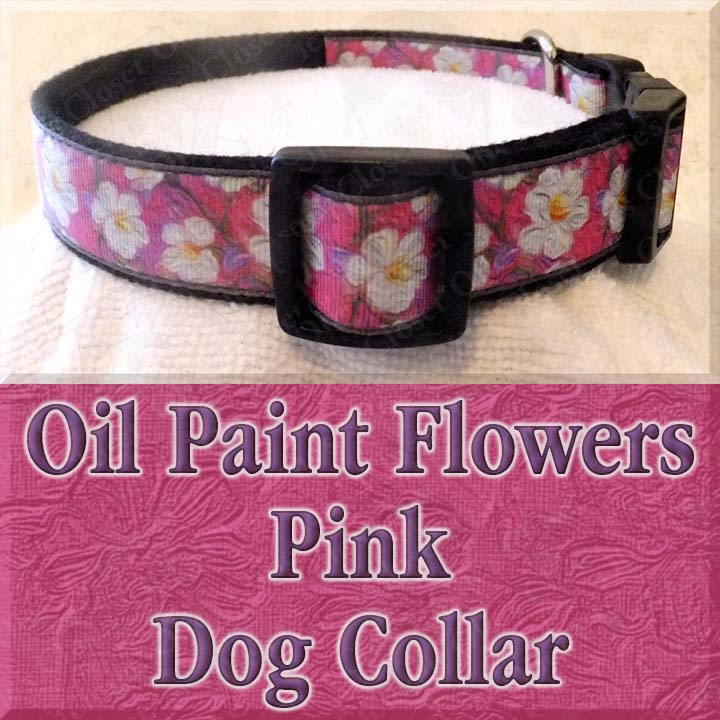 This Beautiful Floral Oil Painted Flowers On Pink