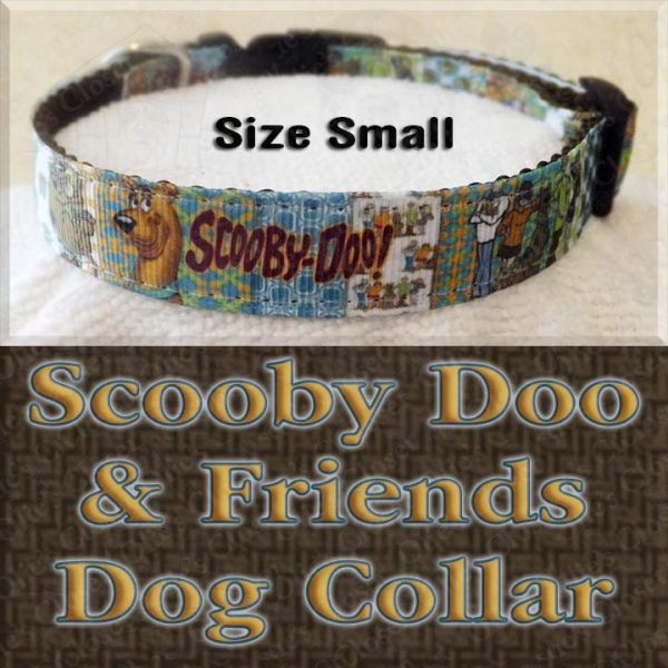 Scooby Doo Size Small Dog Collar Product Image No1