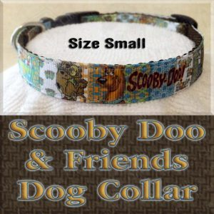 Scooby Doo Size Small Dog Collar Product Image No2