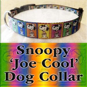 Snoopy Joe Cool Dog Collar Product Image No1