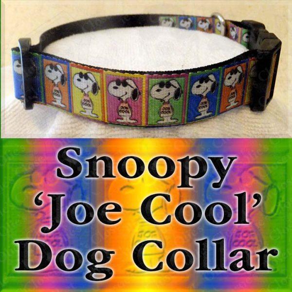 Snoopy Joe Cool Dog Collar Product Image No2