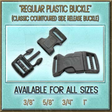 Classic Plastic Contoured Side Release Buckle Product Image No1