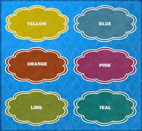 Badge Label Color Options Flower Argyle Custom Name Personlized Ceramic Pet Bowl Image