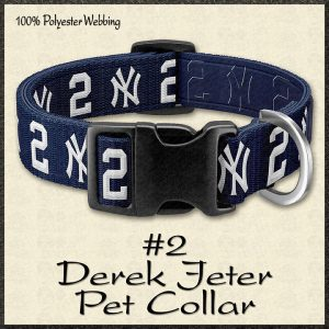 Derek Jeter No2 NBA Basketball Pet Collar Product Image No1