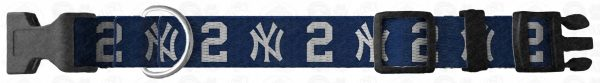 New York NY Yankees Custom Design Request Dog Collar Product Image No2