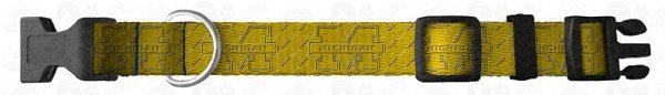 University of Michigan Argyle Dog Collar Design Display Product Image No5