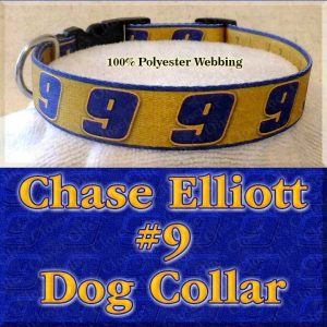 Chase Elliott 9 NASCAR Fan Designer Dog Collar Product Image No4