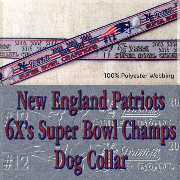 New England Patriots Super Bowl Champions Collar Product Image No1