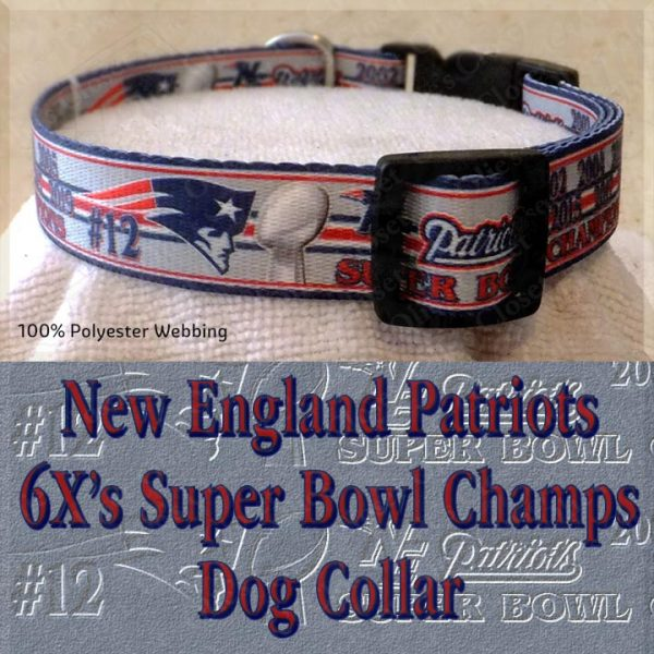 New England Patriots Super Bowl Champions Collar Product Image No2