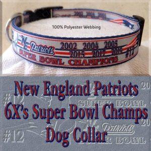 New England Patriots Super Bowl Champions Collar Product Image No3