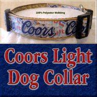 Coors Light Beer Designer Dog Collar Product Image No4