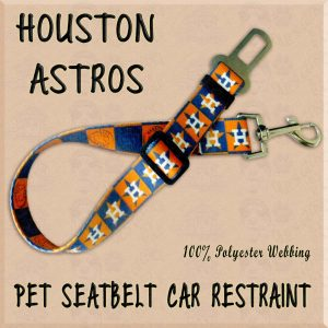 HOUSTON ASTROS WEBBING CAR RESTRAINT Product Image No1