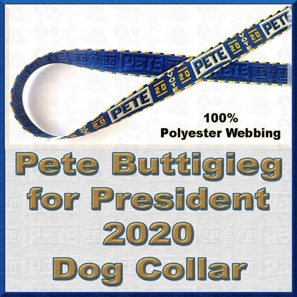 Pete Buttigieg for President 2020 Dog Collar Product Image No1