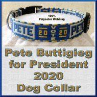 Pete Buttigieg for President 2020 Dog Collar Product Image No3