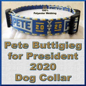 Pete Buttigieg for President 2020 Dog Collar Product Image No4