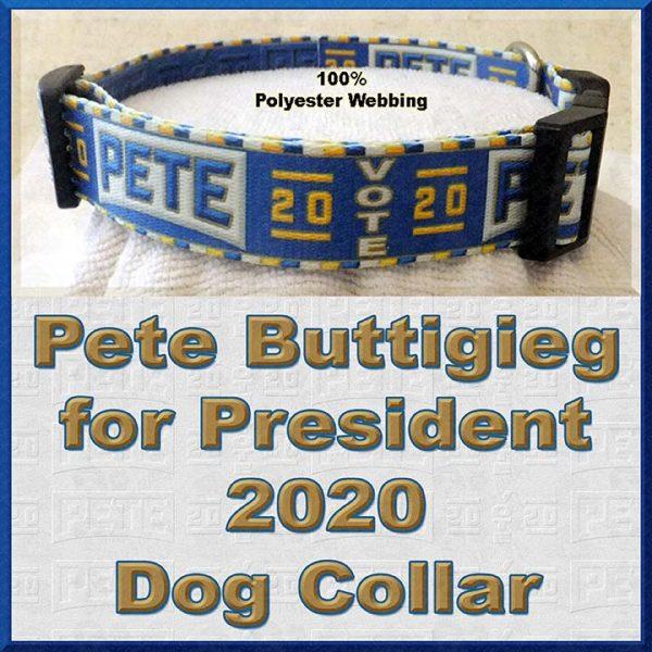 Pete Buttigieg for President 2020 Dog Collar Product Image No4