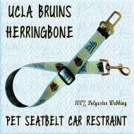 UCLA BRUINS HERRINGBONE WEBBING CAR RESTRAINT Product Image No1