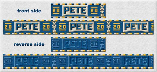 Visual Display Pete Buttigieg for President 2020 Product Image No1