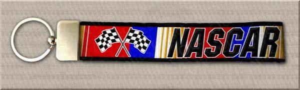 RED NASCAR Designer Key Fob Product Image No1