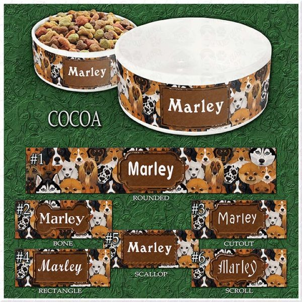 COCOA Dog Breed Faces Choices Product Image