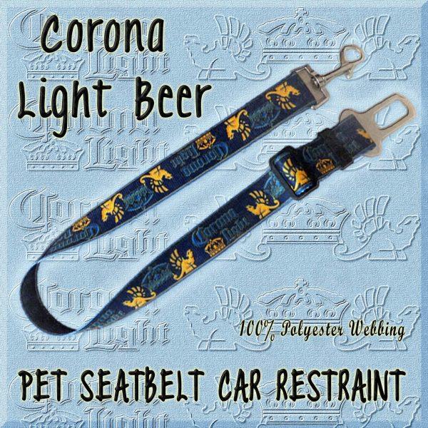 CORONA LIGHT BEER WEBBING CAR RESTRAINT Product Image No1