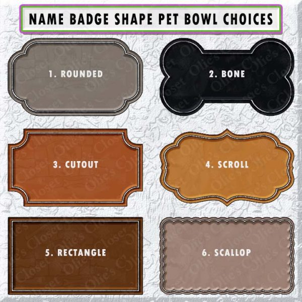 DOG BREED FACES COLOR FRAME CHOICES