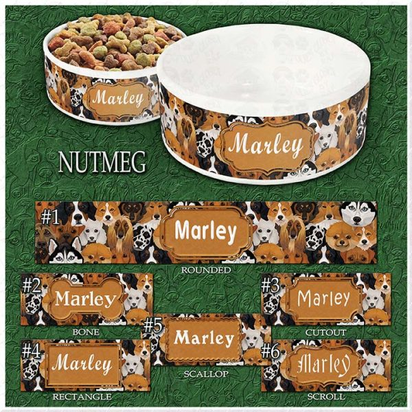 NUTMEG Dog Breed Faces Choices Product Image
