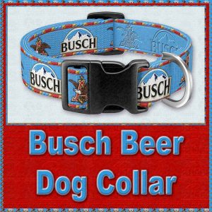 Busch Beer Designer Dog Collar Product Image No1