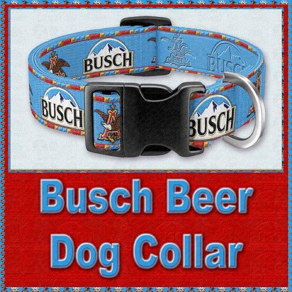 Busch Beer Designer Dog Collar Product Image No1