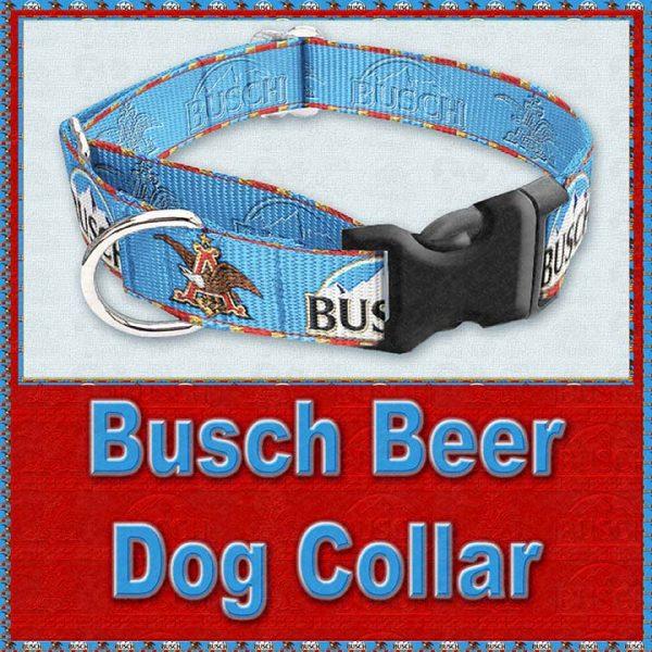 Busch Beer Designer Dog Collar Product Image No2