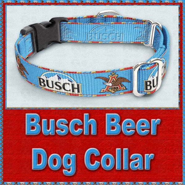 Busch Beer Designer Dog Collar Product Image No3