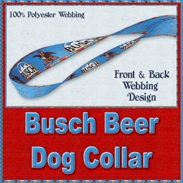 Busch Beer Designer Dog Collar Product Image No4