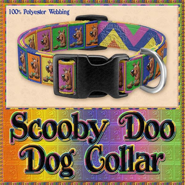 Scooby Doo Designer Dog Collar Product Image No1