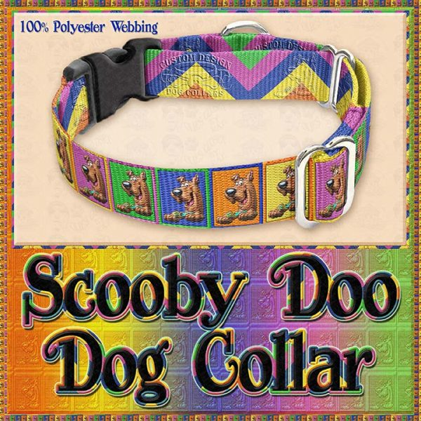 Scooby Doo Designer Dog Collar Product Image No2