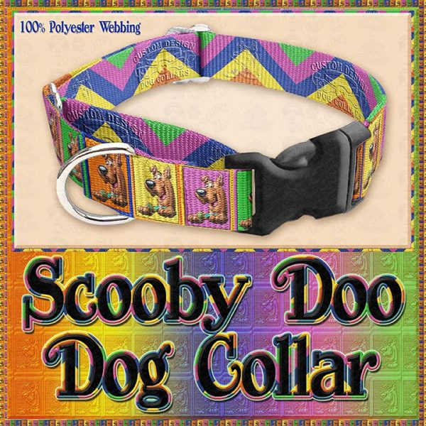 Scooby Doo Designer Dog Collar Product Image No3
