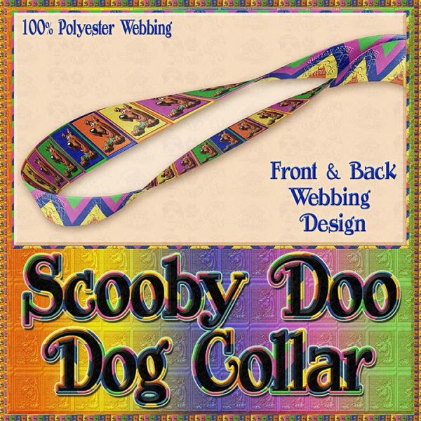 Scooby Doo Designer Dog Collar Product Image No4