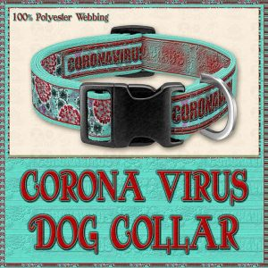 Corona Designer Dog Collar Product Image No1