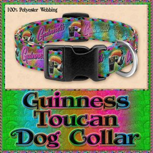 Guinness Toucan Tropical Designer Dog Collar Product Image No1