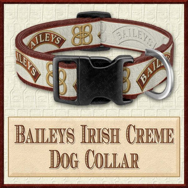 Baileys Irish Creme Designer Dog Collar Product Image No1