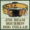 Jim Beam Kentucky Bourbon Designer Dog Collar No1