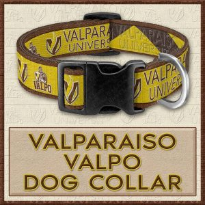 Valparaiso Valpo University Designer Dog Collar No1