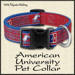 American University Pet Collar Product Image No1
