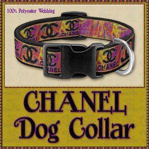 CHANEL Marble Designer Dog Collar Product Image No1
