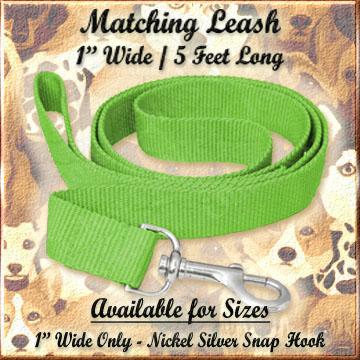4 Feet Long 5/8 Inch Wide Leash Product