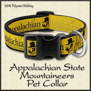 Appalachian State University Mountaineers Pet Collar Product Image No1