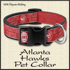 Atlanta Hawks NBA Basketball Pet Collar Product Image No1